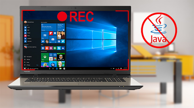 Screen Recorder ohne Java