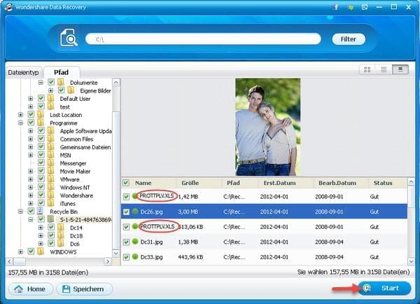 Apowersoft Datenrettung