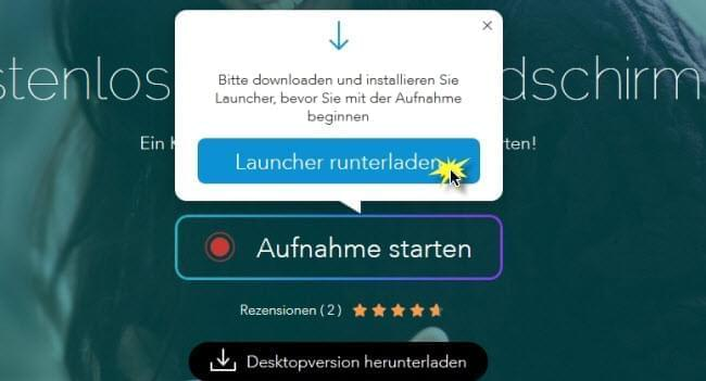 Launcher downloaden