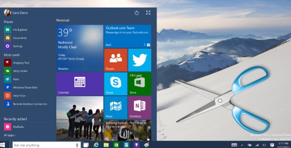 Screenshots auf Windows 10