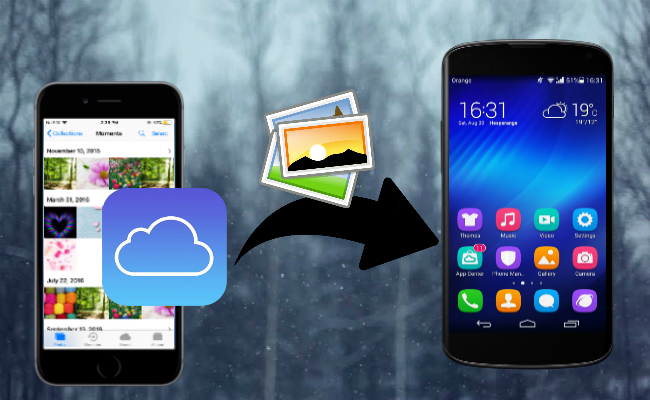 icloud videos mit android synchronisieren